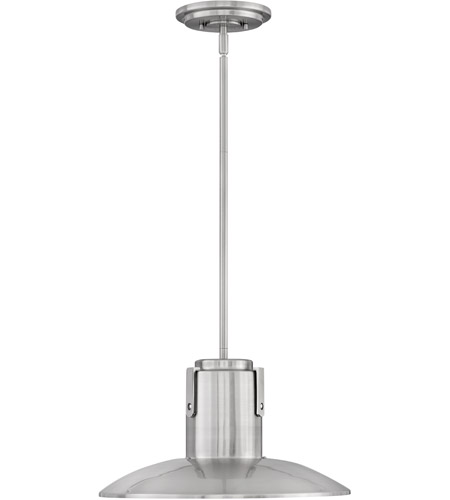 Hinkley Lighting Abbie 1 Light Mini-Pendant in Brushed Nickel 4047BN