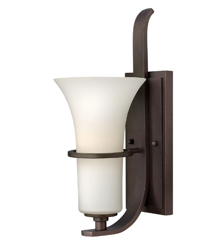 Hinkley Lighting Lauren 1 Light Sconce in Victorian Bronze 4060VZ