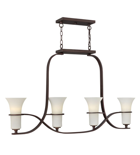 Hinkley Lighting Lauren 4 Light Chandelier in Victorian Bronze 4064VZ