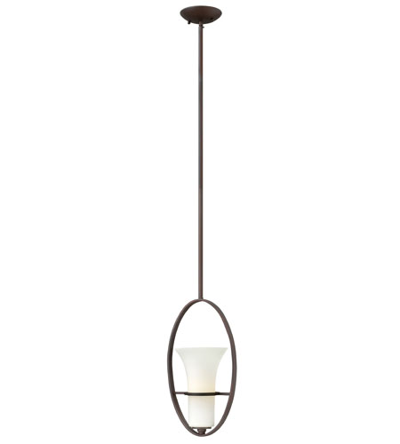 Hinkley Lighting Lauren 1 Light Mini-Pendant in Victorian Bronze 4067VZ