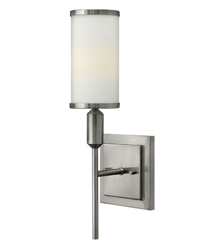 Hinkley Lighting Princeton 1 Light Sconce in Brushed Nickel 4070BN
