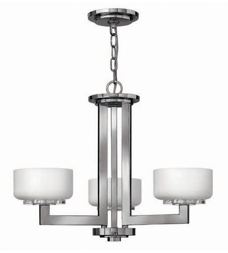 Hinkley Lighting Ashbury 3 Light Chandelier in Chrome 4083CM photo