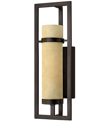 Hinkley 4090RI Cordillera 1 Light 8 inch Rustic Iron Sconce Wall Light photo