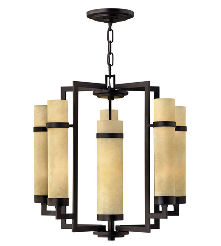 Hinkley Lighting Cordillera 10 Light Chandelier in Rustic Iron 4095RI photo