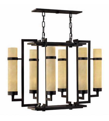 Hinkley Lighting Cordillera 12 Light Chandelier in Rustic Iron 4096RI photo