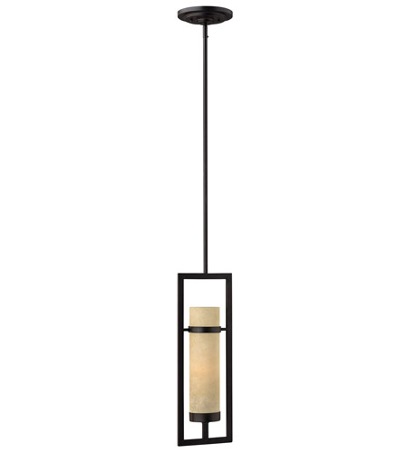 Hinkley Lighting Cordillera 1 Light Mini-Pendant in Rustic Iron 4097RI photo