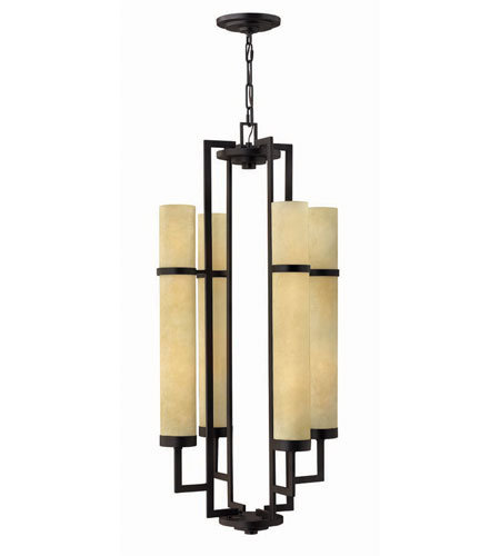 Hinkley Lighting Cordillera 8 Light Hanging Foyer in Rustic Iron 4098RI photo