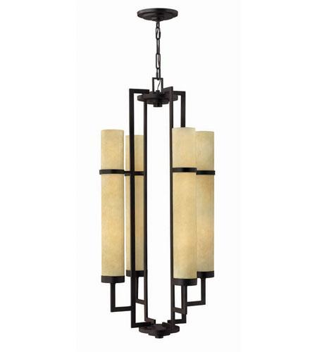 Hinkley Lighting Cordillera 8 Light Hanging Foyer in Rustic Iron 4098RI