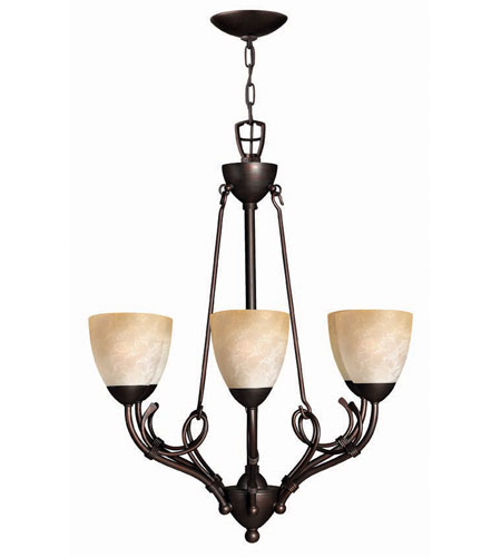 Hinkley Lighting Portofino 6 Light Chandelier in Victorian Bronze 4116VZ