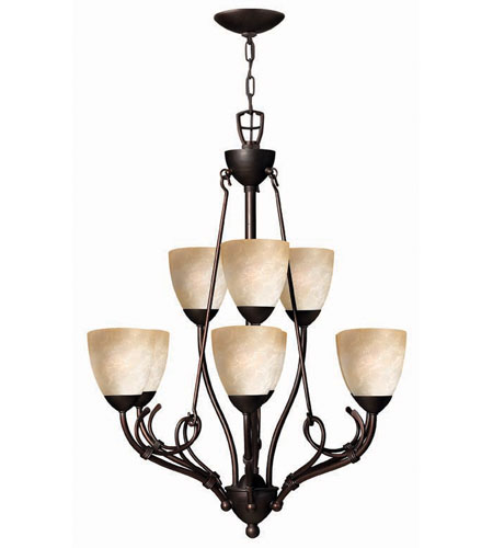 Hinkley Lighting Portofino 9 Light Chandelier in Victorian Bronze 4118VZ photo