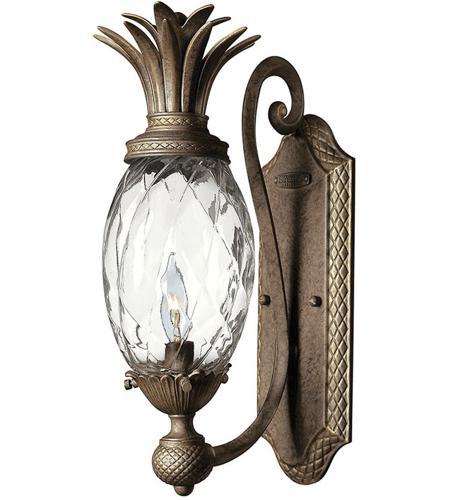 Hinkley Lighting Plantation 1 Light Sconce in Pearl Bronze 4140PZ