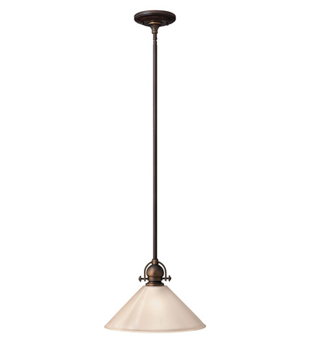 Hinkley Lighting Mayflower 1 Light Mid-Pendant in Olde Bronze 4151OB