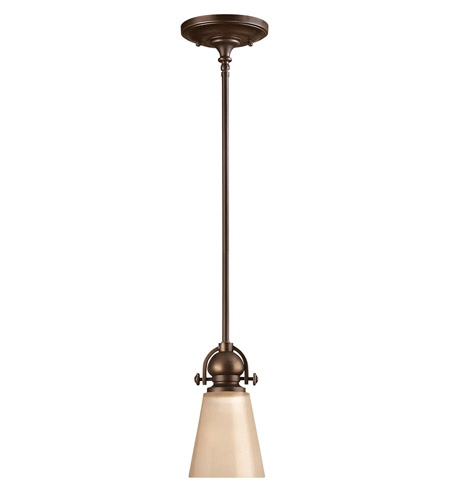Hinkley 4167OB Mayflower 1 Light 5 inch Olde Bronze Mini-Pendant Ceiling Light photo