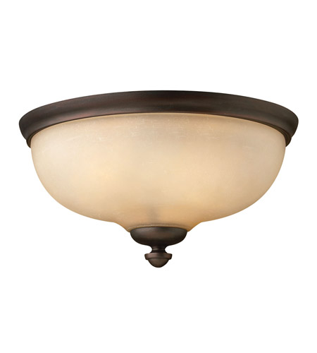Hinkley Lighting Thistledown 3 Light Flush Mount in Victorian Bronze 4171VZ