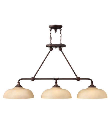 Hinkley 4174VZ Thistledown 3 Light 47 inch Victorian Bronze Chandelier Ceiling Light photo
