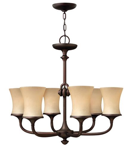 Hinkley 4176VZ Thistledown 6 Light 27 inch Victorian Bronze Chandelier  Ceiling Light