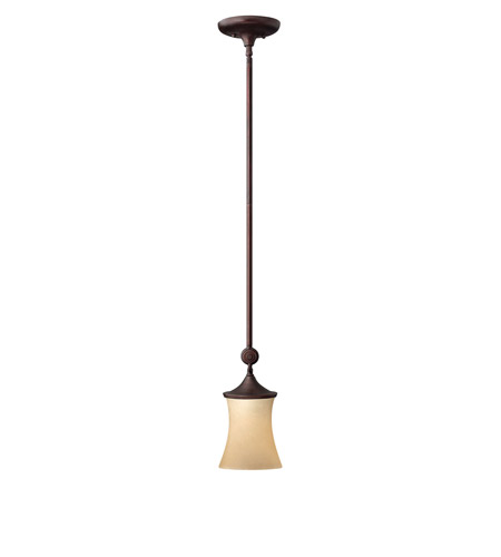 Hinkley Lighting Thistledown 1 Light Mini-Pendant in Victorian Bronze 4177VZ