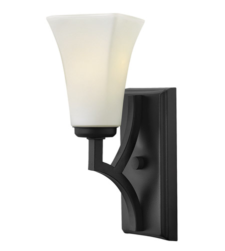Hinkley Lighting Spencer 1 Light Sconce in Textured Black 4190TB