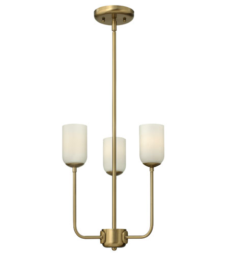 Hinkley Lighting Harlow 3 Light Chandelier in Brushed Caramel 4213BC photo