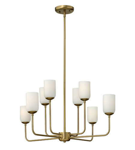 Hinkley Lighting Harlow 8 Light Chandelier in Brushed Caramel 4218BC photo
