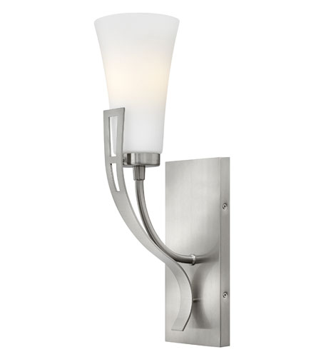 Hinkley Lighting Channing 1 Light Sconce in Brushed Nickel 4220BN