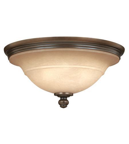 Hinkley Lighting Plymouth 3 Light Flush Mount in Olde Bronze 4241OB photo