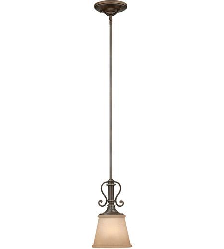 Hinkley Lighting Plymouth 1 Light Mini-Pendant in Olde Bronze 4247OB