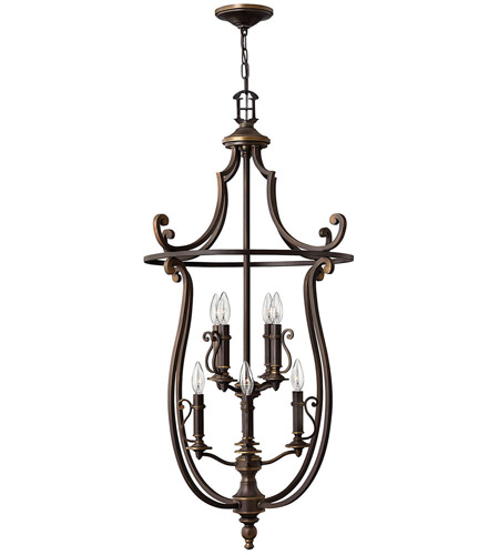 Hinkley Lighting Plymouth 8 Light Hanging Foyer in Olde Bronze 4258OB