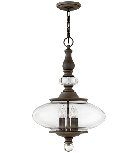 Hinkley 4325oz Wexley 5 Light 18 Inch Oil Rubbed Bronze Chandelier Ceiling Photo