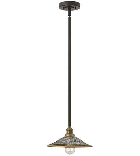Hinkley 4367KZ Rigby 1 Light 10 inch Buckeye Bronze Pendant Ceiling Light photo