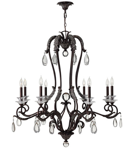 Hinkley Lighting Marcellina 8 Light Chandelier in Golden Bronze 4404GR