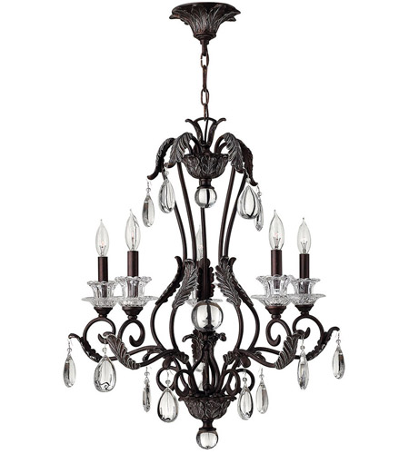 Hinkley Lighting Marcellina 5 Light Chandelier in Golden Bronze 4405GR