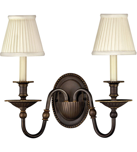 Hinkley Lighting Cambridge 2 Light Sconce in Olde Bronze 4412OB