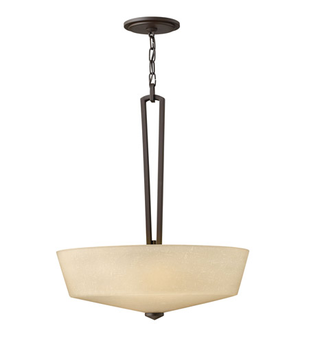 Hinkley Lighting Parker 3 Light Hanging Foyer in Buckeye Bronze 4434KZ