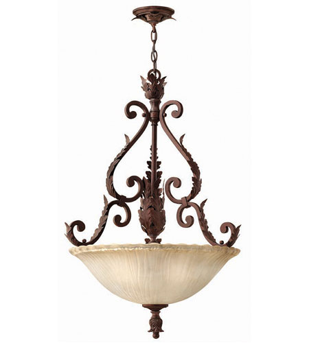 Hinkley Martina Pendant 3Lt Foyer in Golden Bronze 4452GR photo