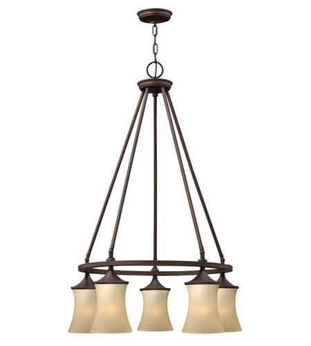 Hinkley Lighting Thistledown 5 Light Chandelier in Victorian Bronze 4505VZ