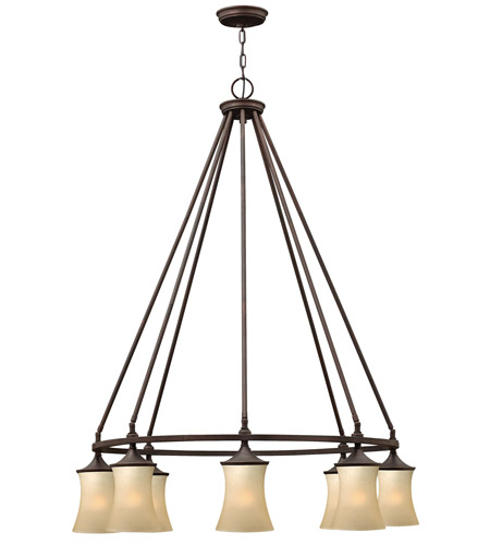 Hinkley Lighting Thistledown 8 Light Chandelier in Victorian Bronze 4508VZ photo