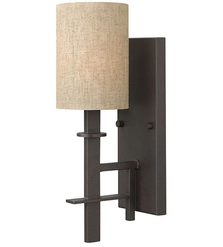 Hinkley Lighting Sloan 1 Light Sconce in Regency Bronze 4540RB