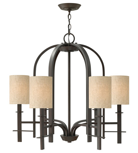 Hinkley Lighting Sloan 6 Light Chandelier in Regency Bronze 4546RB