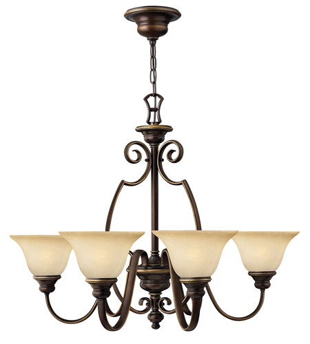 Hinkley 4566AT Cello 6 Light 32 inch Antique Bronze Chandelier Ceiling Light photo
