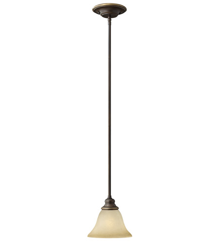 Hinkley 4567AT Cello 1 Light 9 inch Antique Bronze Mini-Pendant Ceiling Light photo