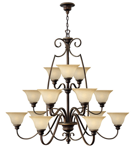 Hinkley 4569AT Cello 15 Light 47 inch Antique Bronze Chandelier Ceiling Light photo