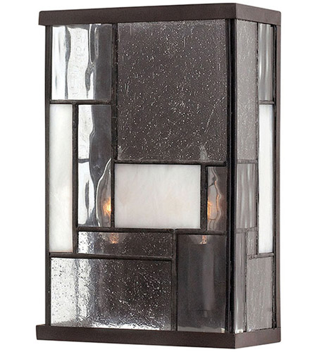 Hinkley Lighting Mondrian 2 Light Sconce in Buckeye Bronze 4570KZ