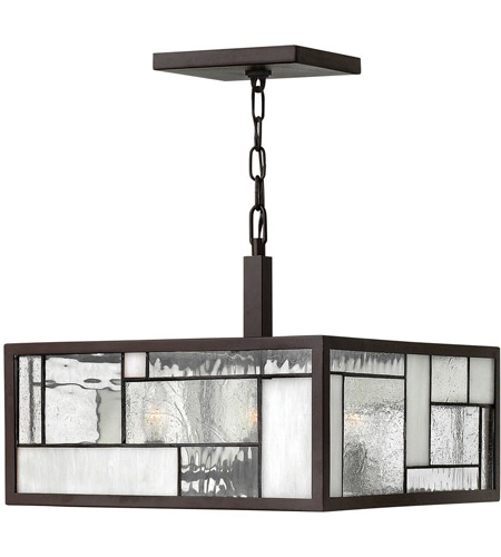 Hinkley Lighting Mondrian 4 Light Hanging Foyer in Buckeye Bronze 4571KZ