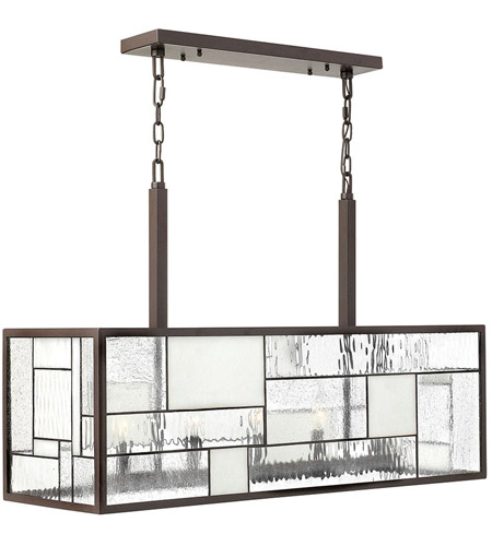 Hinkley 4575KZ Mondrian 5 Light 36 inch Buckeye Bronze Chandelier Ceiling Light photo