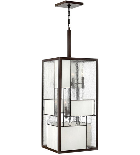 Hinkley 4576KZ Mondrian 12 Light 14 inch Buckeye Bronze Hanging Foyer Ceiling Light photo