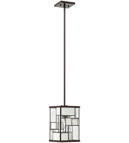 Hinkley Lighting Mondrian 1 Light Mid-Pendant in Buckeye Bronze 4577KZ