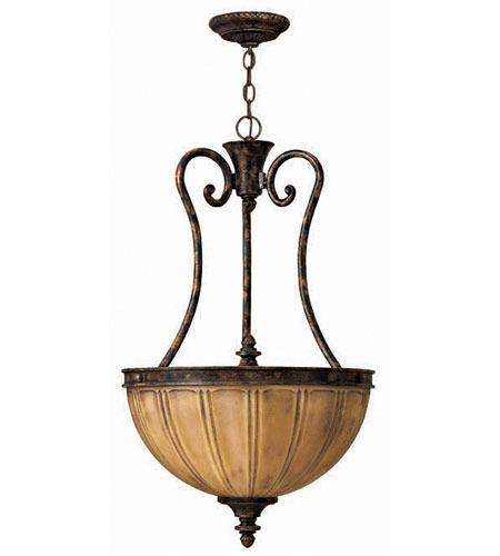 Hinkley Monet Pendant 3Lt Foyer in Forum Bronze 4584FB photo