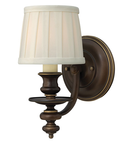 Hinkley Lighting Dunhill 1 Light Sconce in Royal Bronze 4590RY