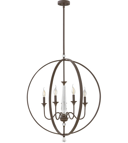 Hinkley 4605OZ Waverly 5 Light 30 inch Oil Rubbed Bronze Foyer Chandelier Ceiling Light photo